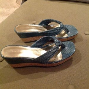 Almost new, Wedge sandals